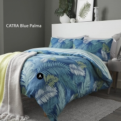 Sprei CATRA Blue Palma