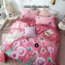 Sprei CATRA Dandelion Pink