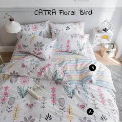 Sprei CATRA Floral Bird