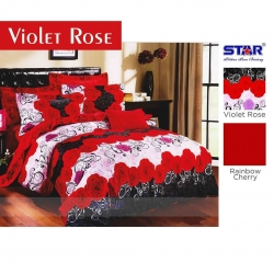 Sprei Star Violet-Rose