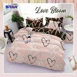 Sprei STAR Love Bloom Pink
