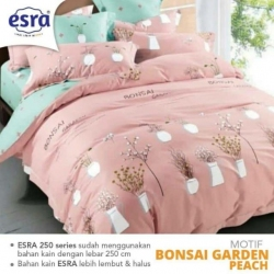 Sprei ESRA Bonsai Garden Peach