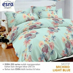 Sprei ESRA Michiko Light Blue