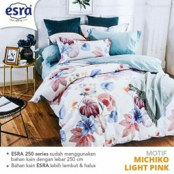 Sprei ESRA Michiko Light Pink