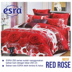sprei-esra-red-rose