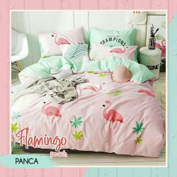 Sprei PANCA Flamingo Peach