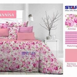 Sprei Star anissa-pink