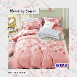 Sprei STAR Blooming Season Pink