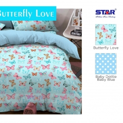 sprei-star-buterfly-love-biru