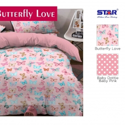 sprei-star-butterfly-love-pink