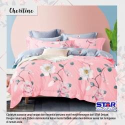 Sprei STAR Cheriline Pink