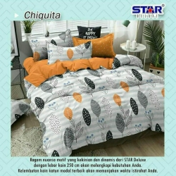 Sprei STAR Chiquita Orange