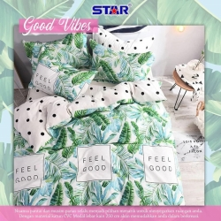 Sprei STAR Good Vibes