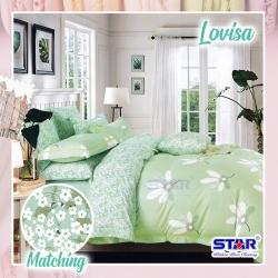 Sprei STAR Lovisa Hijau