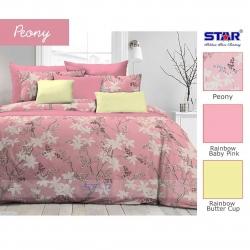 Sprei Star peony-pink