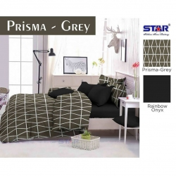 Sprei Star prisma-grey