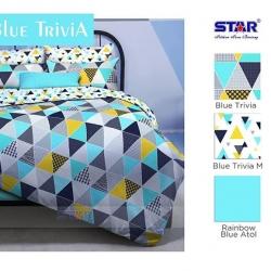 Sprei Star Blue trivia