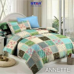 Sprei STAR Annette Biru