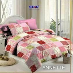 Sprei STAR Annette Pink