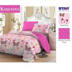 Sprei Star Karenina-Pink
