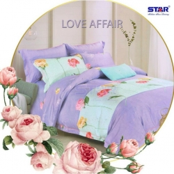 Sprei STAR Love Affair Ungu