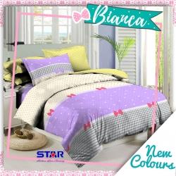 Sprei STAR Bianca Ungu