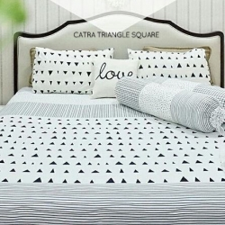 Sprei CATRA Triangle Square