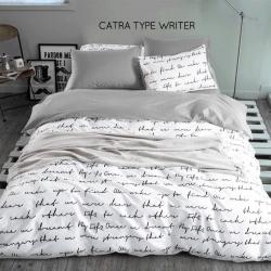 Sprei CATRA Typewriter