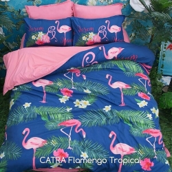 sprei-catra-flaminggo-tropical