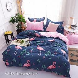 sprei-catra-flamingo-navy