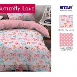 sprei-star-butterfly-love-pink