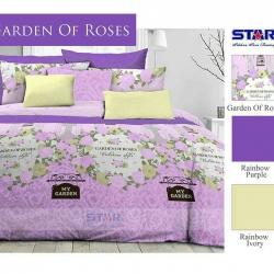 Sprei Star garden-of-roses-ungu
