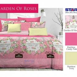Sprei Star garden of-roses-pink