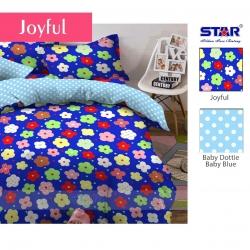sprei-star-joyful-biru
