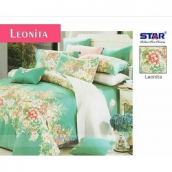 sprei-star-leonita-hijau
