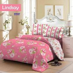 Sprei-star-lindsay-pink