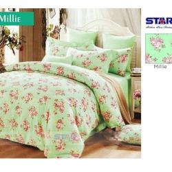 sprei-star-milie-hijau