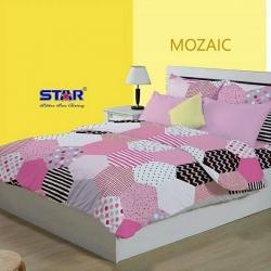 sprei-star-mozaic-pink