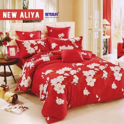 sprei-star-new-aliya-merah