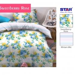 sprei-star-sweetberry-rose