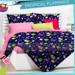 sprei-star-tropical-flaminggo