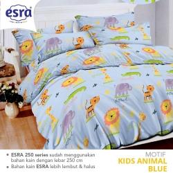 Sprei ESRA Kids Animal Biru