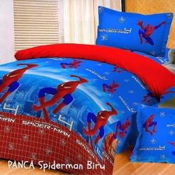 panca-spiderman-biru