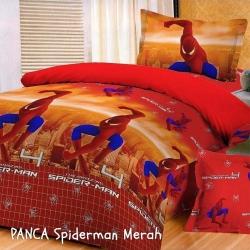 panca-spiderman-merah