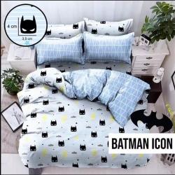 Sprei STAR Batman Icon Biru