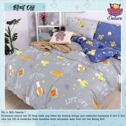 Sprei STAR Blast Off Abu
