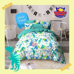Sprei STAR Dino Time Putih