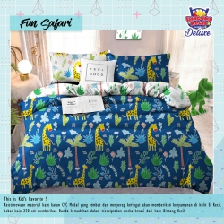 Sprei STAR Fun Safary Navy