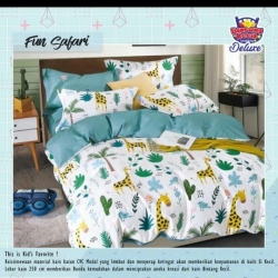 Sprei STAR Fun Safary Putih