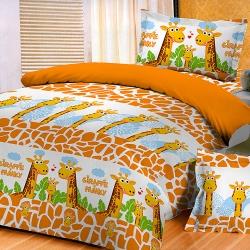 Sprei Star giraffe-family
